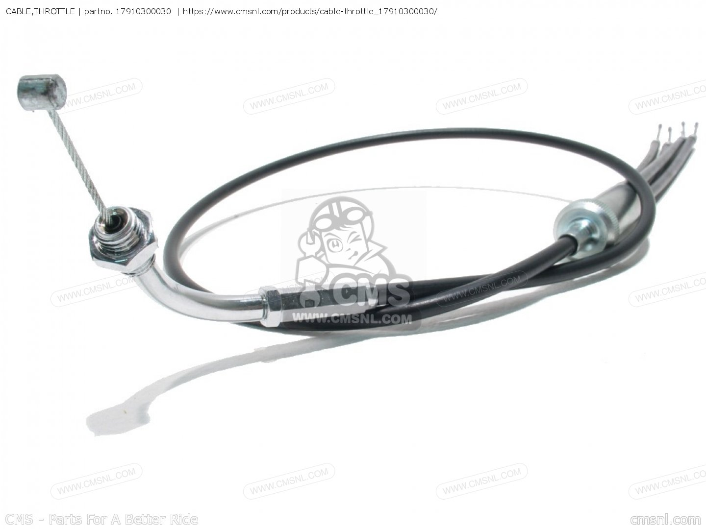 17910300030 cable throttle honda