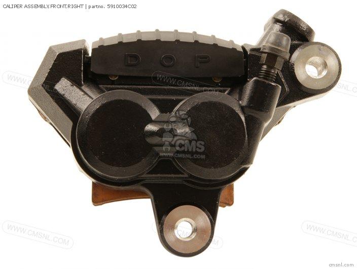 GSX600F 1994 R E02 E21 E22 E25 E34 E53 CALIPER ASSEMBLY FRONT RIGHT