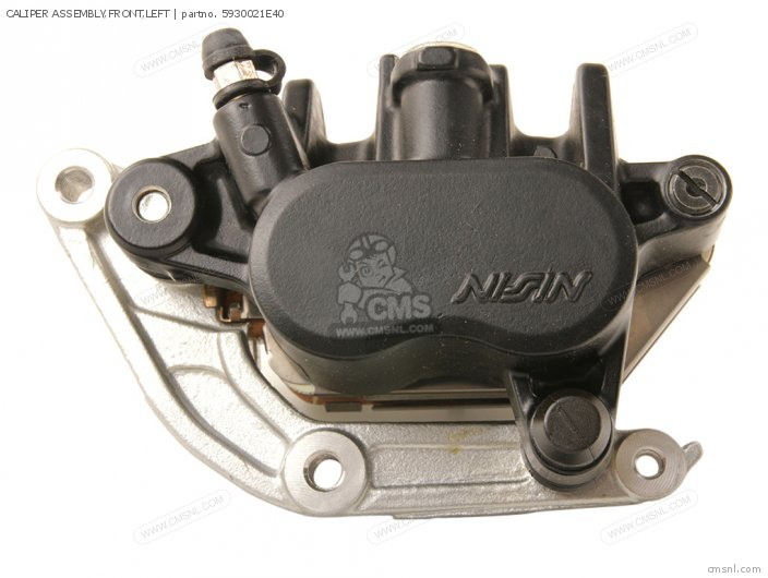 Caliper Assembly, Front, Left photo