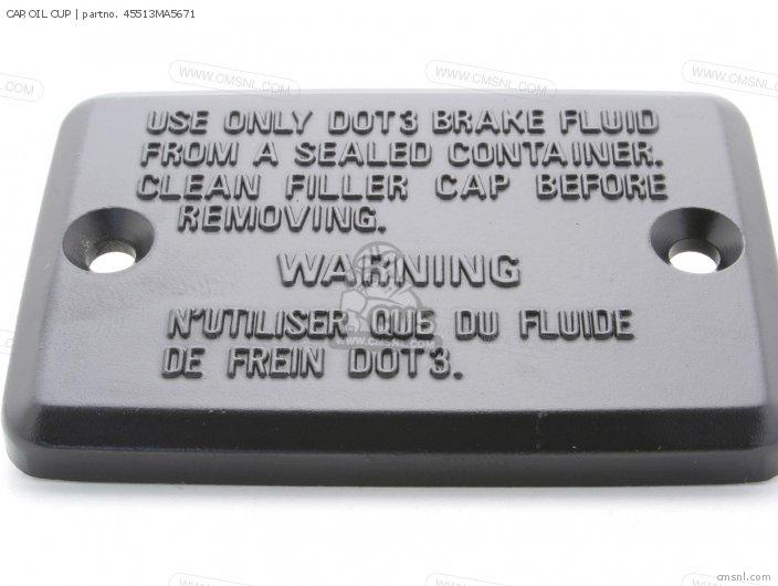 CAP OIL CUP