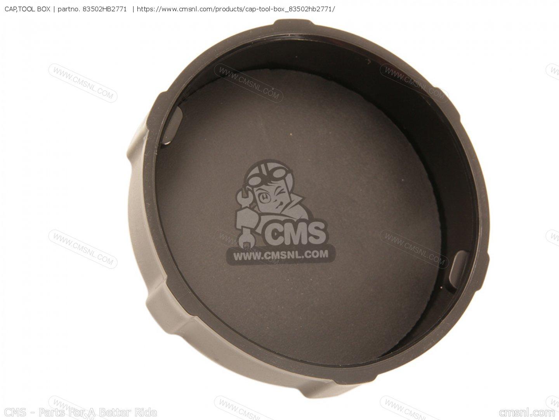 HONDA 83502-HB2-771 CAP TOOL BOX