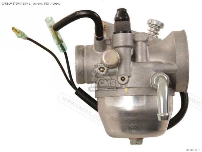 Yamaha sv80em sno scoot 1988 carburetor schematic partsfiche for Yamaha sno scoot price