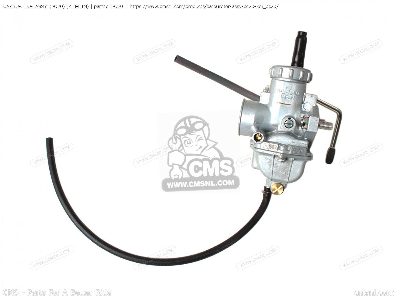carburetor assy   pc20   kei
