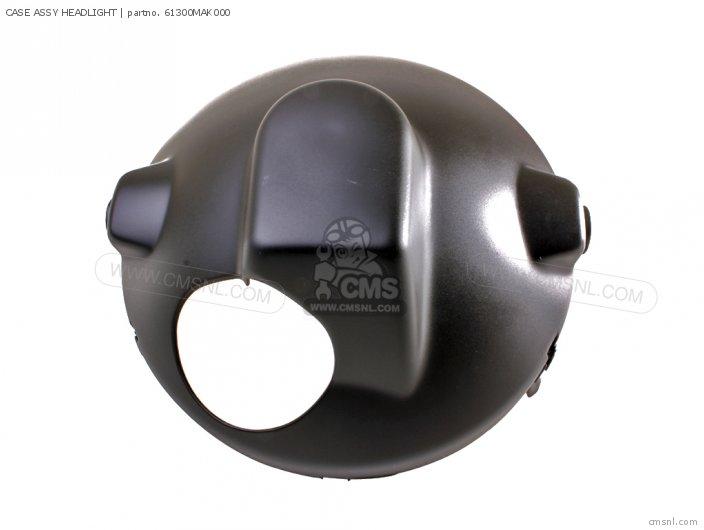 Cbf500 2004 4 European Direct Sales   3ed Case Assy Headlight