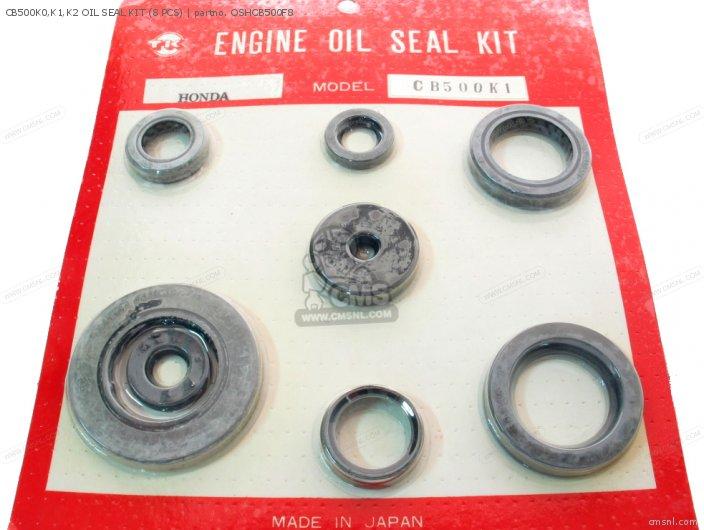 Honda CB500K0,K1,K2 OIL SEAL KIT (8 PCS) OSHCB500F8