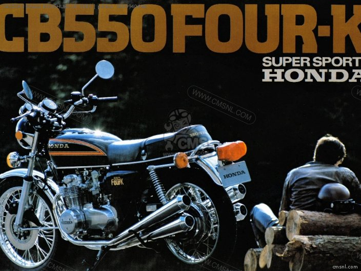 Other Cb550k3 Sales Brochure Uk Spec