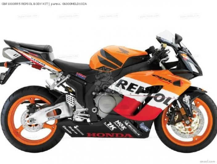 Cbr1000f 1000 Hurricane 1988 Usa Cbr1000rr5 Repsol Body Kit