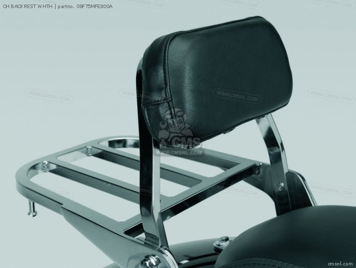 Vt750c Shadow Ch Backrest Whth
