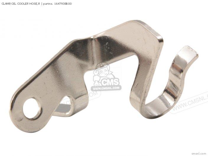 Clamp, Oil Cooler Hose, R photo