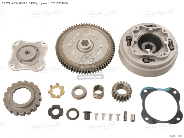 Clutch Assy (double Disk) photo