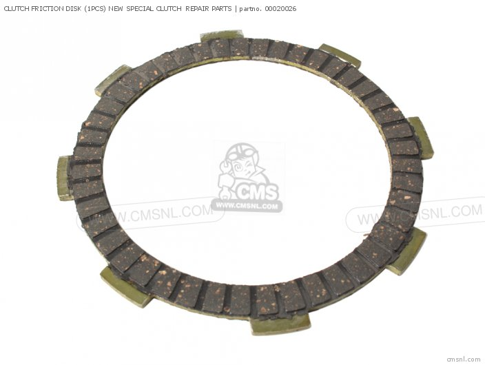 CLUTCH FRICTION DISK (1PCS) NEW SPECIAL CLUTCH REPAIR PARTS