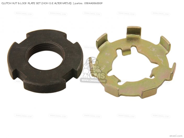 Clutch Nut & Lock Plate Set (non O.e Alternative) photo
