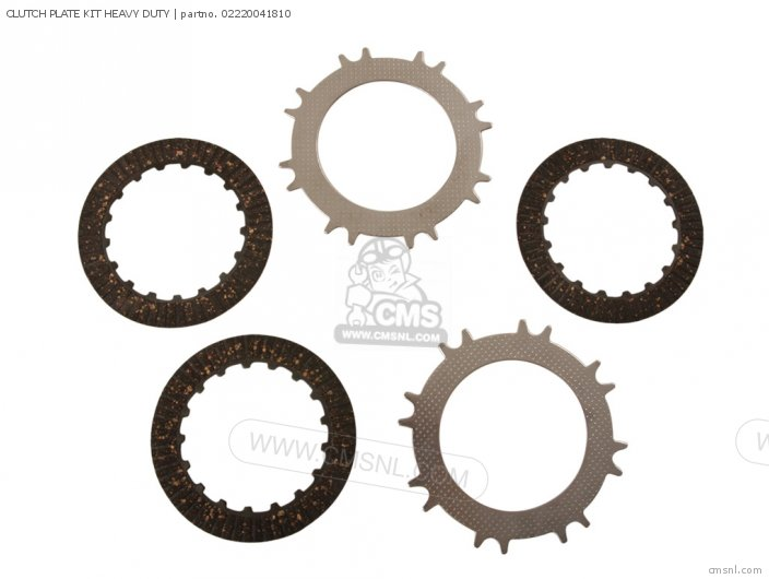 Rising Sun Tuning Parts And Custom Parts Clutch Plate Kit Heavy Duty