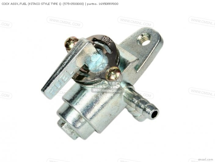 COCK ASSY  FUEL KITACO STYLE TYPE 1 575-0500000