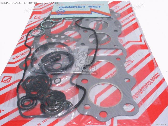 Honda COMPLETE GASKET SET, CB400F KPE1035