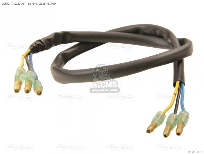 Cord, Tail Lamp photo