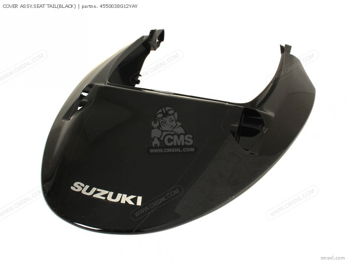 Cover Assy, Seat Tail(black) photo