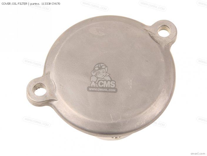 COVER,OIL FILTER