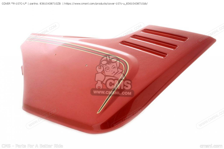 cover r 107c u cb900fa bol d or 83610438710zb