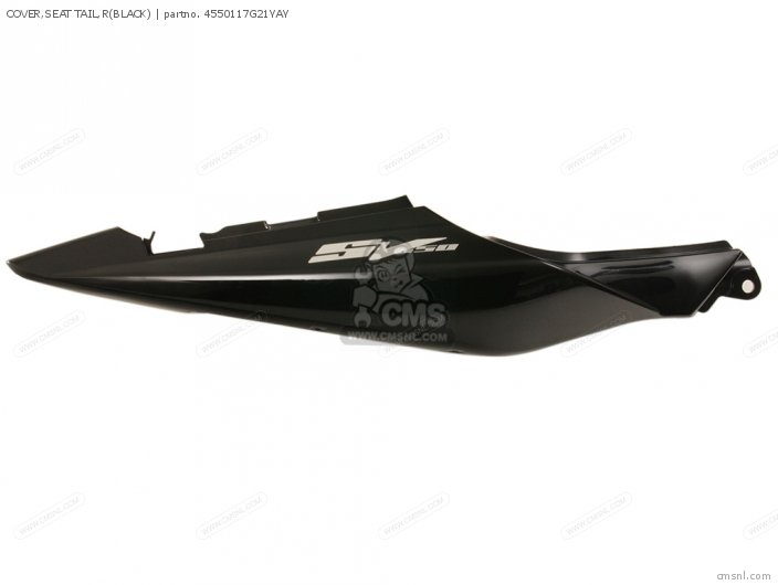COVER SEAT TAIL RBLACK