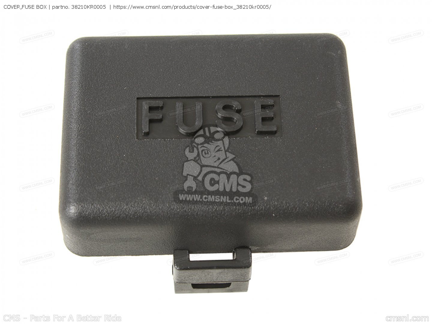cover fuse box nx650 dominator 1989 k england mkh 38210kr0005 cover fuse box photo