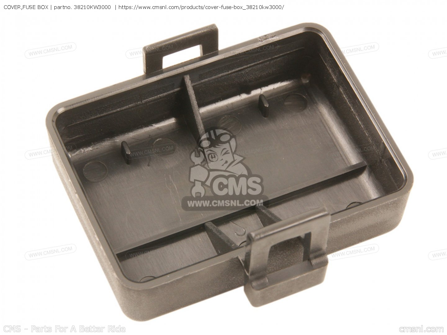 COVER,FUSE BOX, fits NX250 AX-1 1989 (K) JAPAN MD21-110.115 - order ...