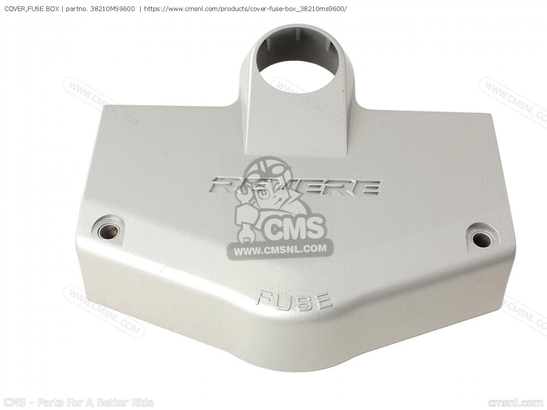 6B3AE88 Honda Ntv 600 Revere Fuse Box Cover | Wiring ResourcesWiring Resources