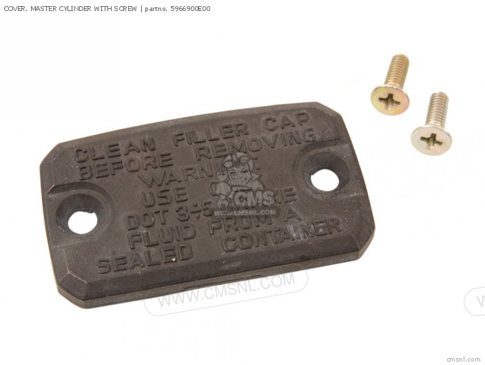 Cover, Master Cylinder With Screw photo