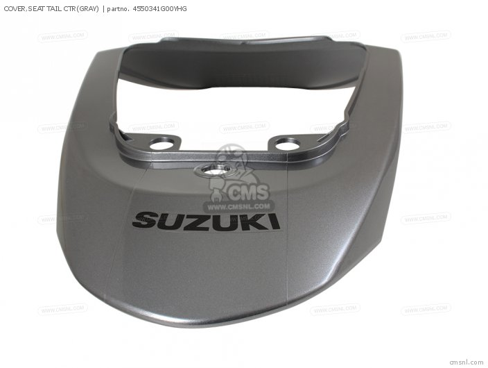 Cover, Seat Tail Ctr(gray) photo