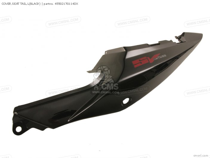 Cover, Seat Tail, L(black) photo
