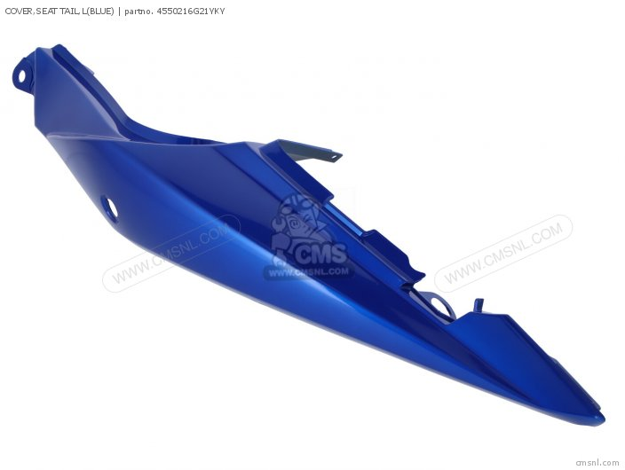 Cover, Seat Tail, L(blue) photo