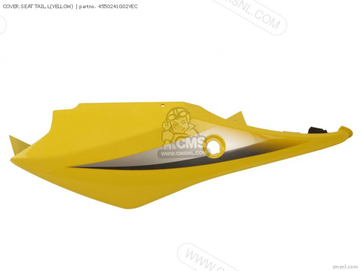 Cover, Seat Tail, L(yellow) photo