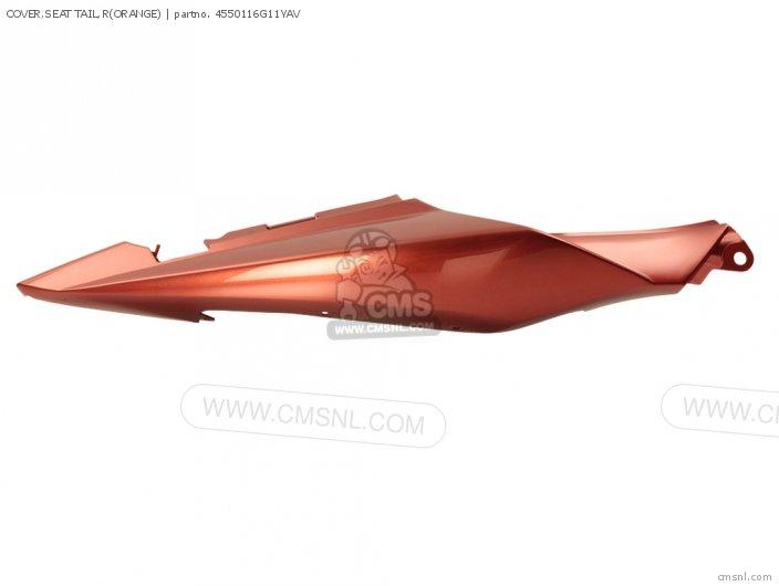 Cover, Seat Tail, R(orange) photo