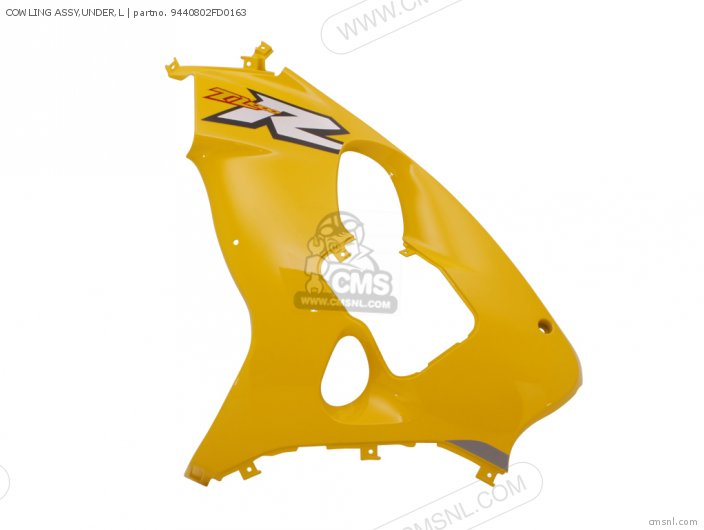 Cowling Assy, Under, L photo