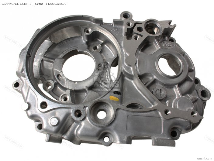 Crf50f 2005 European Direct Sales Crankcase Comp  l