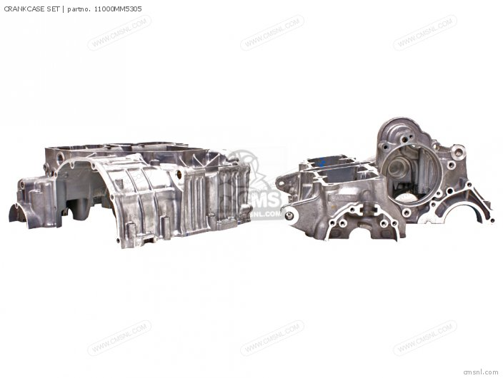 Cbr1000f Hurricane1000 1988 j Usa California Crankcase Set