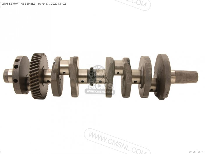 GSX550ES 1987 H E02 E04 E21 E22 E25 CRANKSHAFT ASSEMBLY