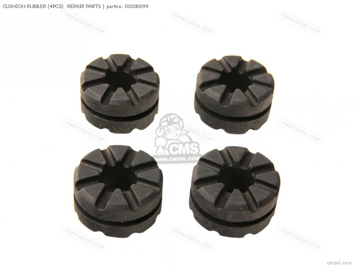 Cushion Rubber (4pcs)  Repair Parts photo