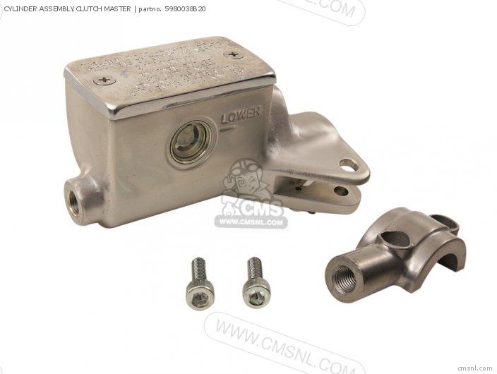 VS1400GLF 1987 H E02 E04 E15 E16 E17 E18 E21 E22 E25 E34 E39 CYLINDER ASSEMBLY CLUTCH MASTER