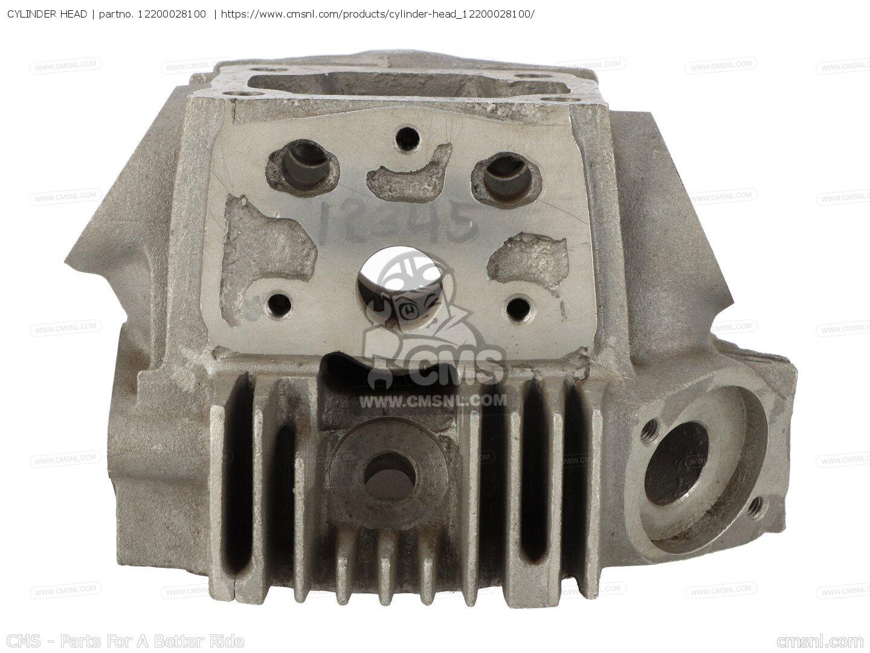 Used Kawasaki Cylinder Head
