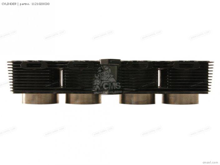 GSX750F 1995 S E02 E04 E18 E22 E24 E25 E34 E37 CYLINDER