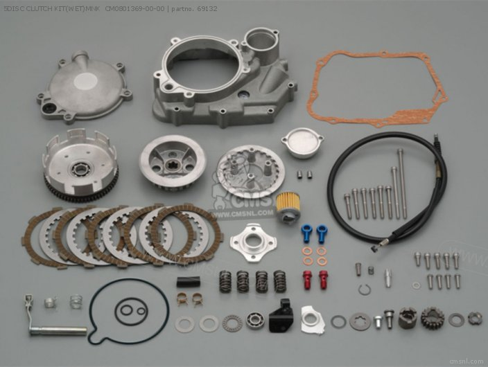 5DISC CLUTCH KIT(WET)MNK  CM0801369 00 00