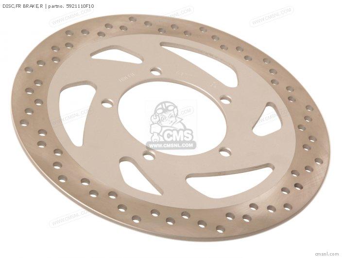 Disc, Fr Brake, R photo