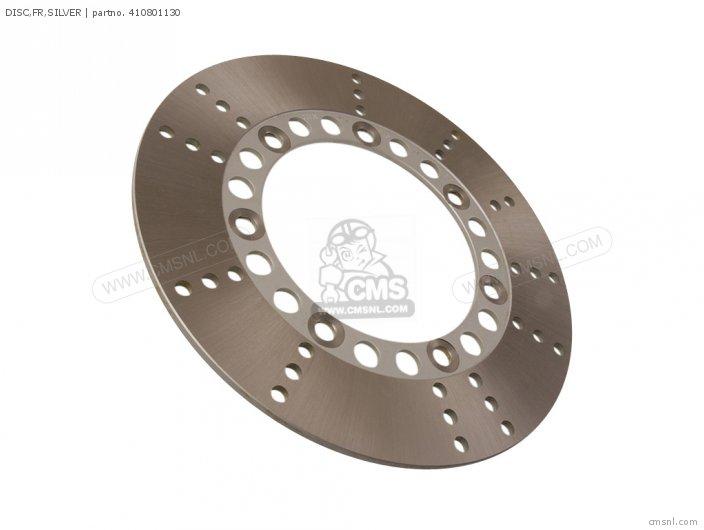 Disc, Fr, Silver photo