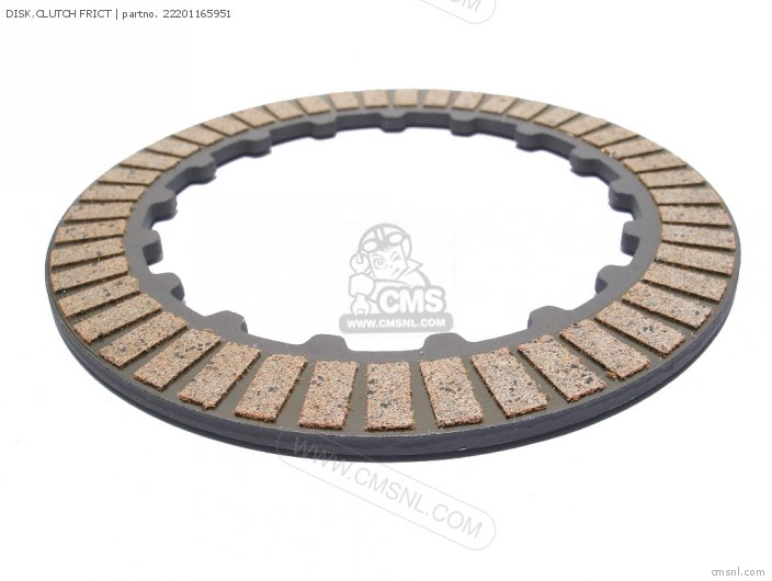 Disk, Clutch Frict (nas) photo