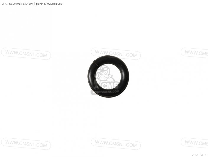 DRAIN SCREW O-RING