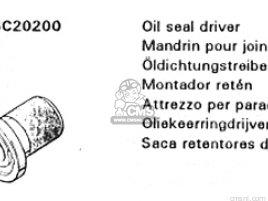 DRIVER,OIL SEAL