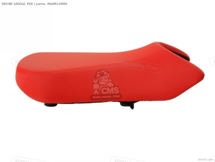 DRIVER SADDLE, RED