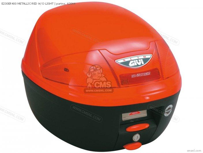 E230ER400 METALLIC RED W/O LIGHT