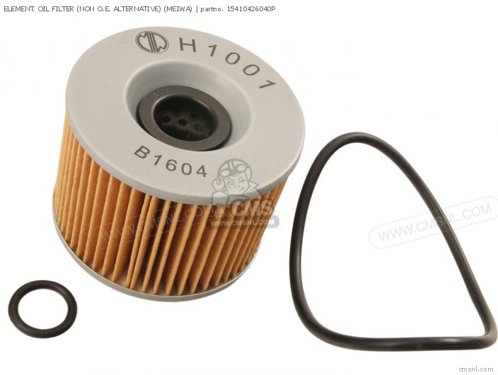 Element, Oil Filter (non O.e. Alternative) (meiwa) photo